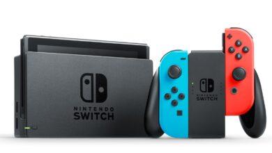 تحديث Nintendo Switch